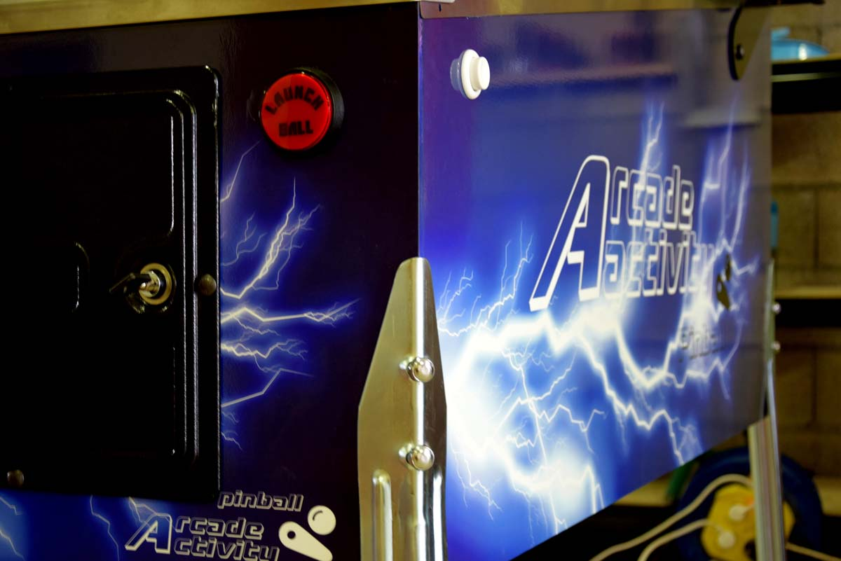 Flippers numériques - Pincab Arcade Activity